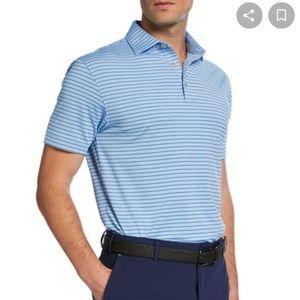 NWT Peter Millar Stretch Jersey Polo Shirt XXL